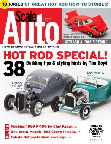 Scale Auto issue February 2016