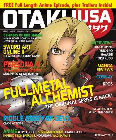 Otaku issue February 2016