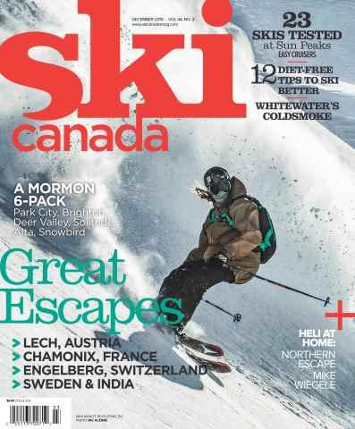 Ski Canada issue December 2015