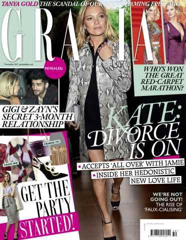 Grazia issue 7th December 2015