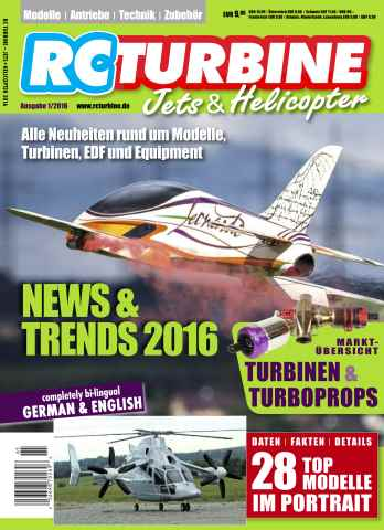 RC Turbine - Jets & Helicopter issue RC Turbine 2016