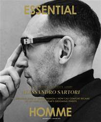 Essential Homme issue December 2015 / January 2016