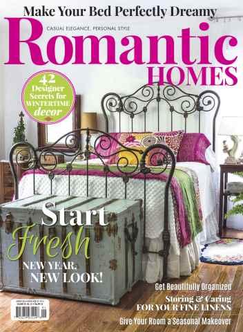 Romantic Homes issue January-February 16