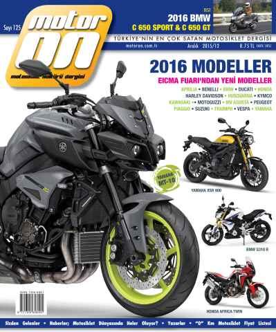 Motoron issue Motoron Aralık 2015