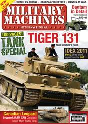 Military Machines International issue July 2011