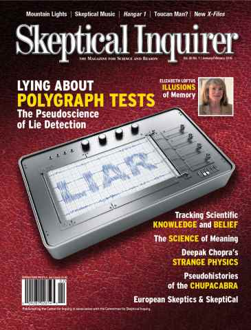 Skeptical Inquirer issue Jan Feb 2016