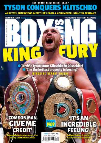 Boxing News UK issue 01/12/2015