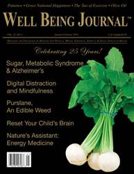 Well Being Journal issue January/February 2016