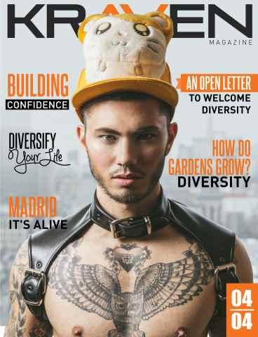 Kraven Magazine issue Diversity Issue