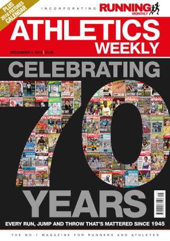 Athletics Weekly issue 03 December 2015