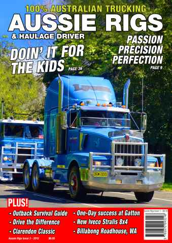 Aussie Rigs and Haulage Driver issue Issue 3