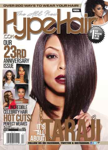 Hype Hair issue December 2015