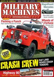 Military Machines International issue November 2011