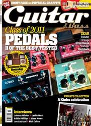 Guitar & Bass Magazine issue Nov 2011 Class of 2011 Pedals