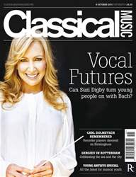 Classical Music issue 8th October 2011