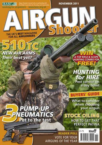 Airgun Shooter issue November 2011
