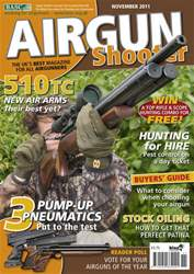 Airgun Shooter issue November 2011