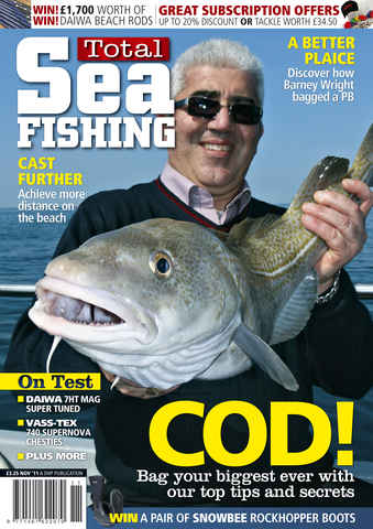 Total Sea Fishing issue November 2011