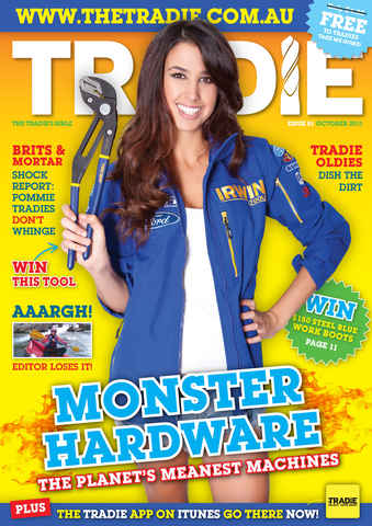 Tradie issue Tradie October 2011