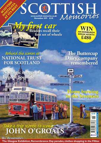 Scottish Memories issue November 2011