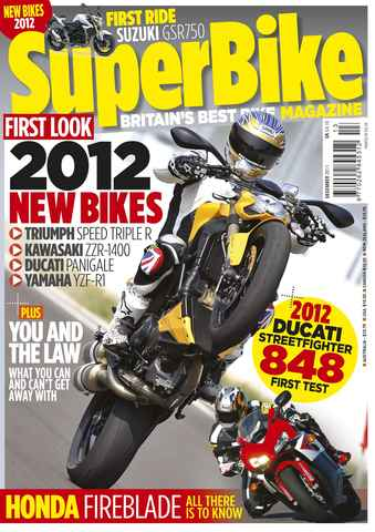 Superbike Magazine issue December 2011