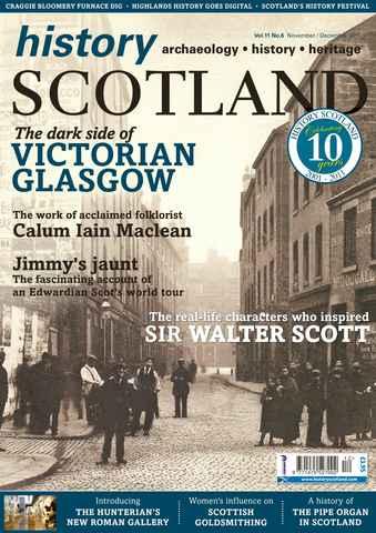 History Scotland issue Nov-Dec 2011