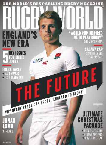 Rugby World issue January 2016