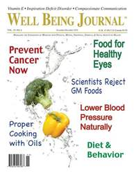 Well Being Journal issue November December 2010