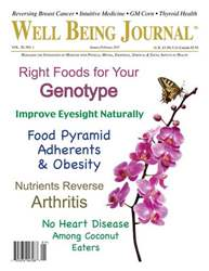 Well Being Journal issue January February 2011