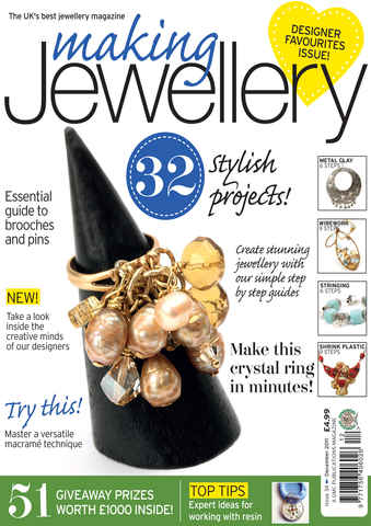 Making Jewellery issue December 2011