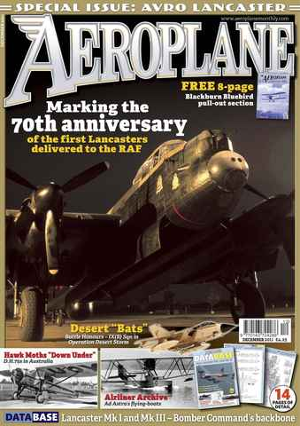Aeroplane issue No.464 Lancaster 70thAnniversary