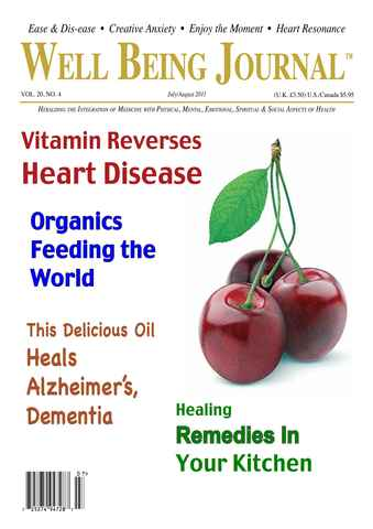 Well Being Journal issue July August 2011