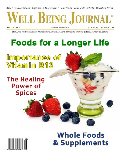 Well Being Journal issue September October 2011
