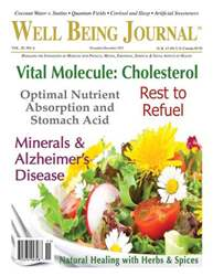 Well Being Journal issue November December 2011