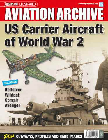 Aeroplane Collector's Archive issue US Carrier Aircraft of WW2