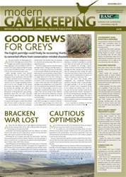 Modern Gamekeeping issue NOVEMBER 2011