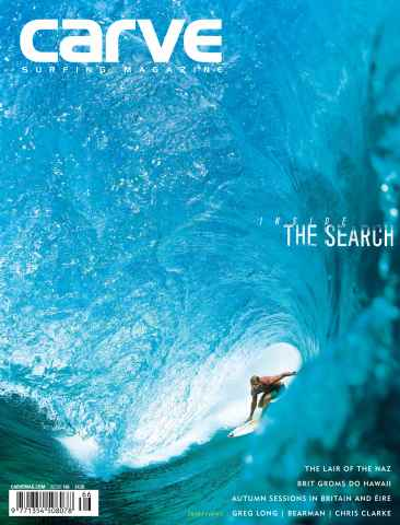 Carve issue Carve Surfing Magazine issue 166