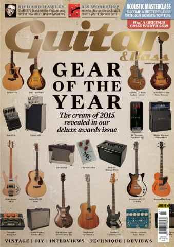 Guitar & Bass Magazine issue Jan-16