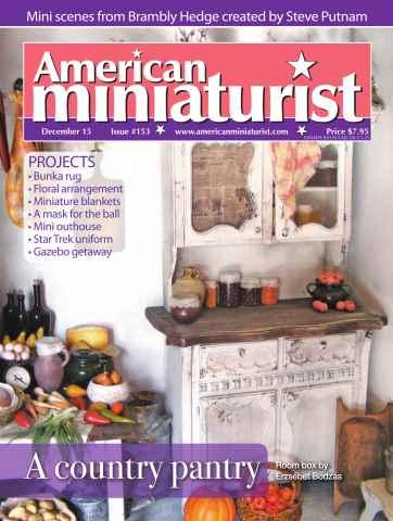 American Miniaturist issue Issue 153