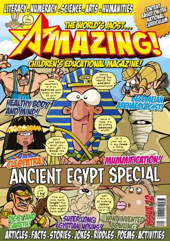 Amazing! Magazine issue Issue 12 - Pirates Special