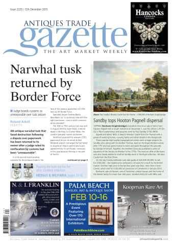 Antiques Trade Gazette issue 2220