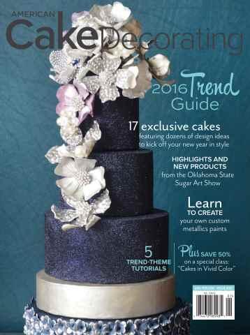 American Cake Decorating issue Jan/Feb 2016