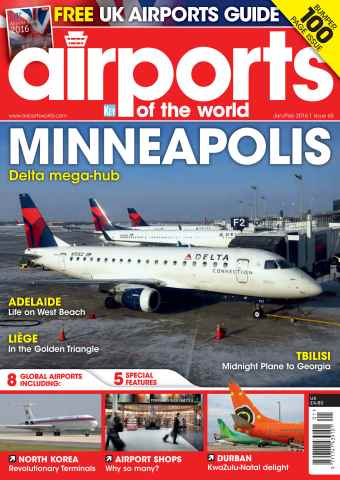 Airports of the World issue January/February 2016