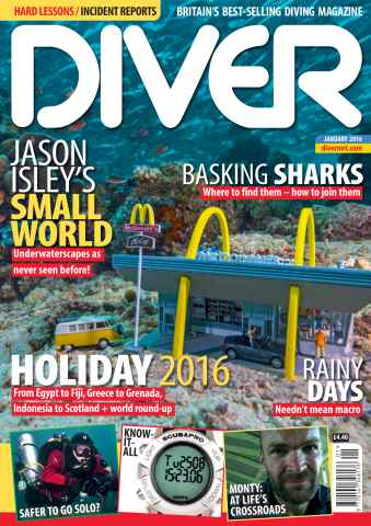 DIVER issue JANUARY 2016