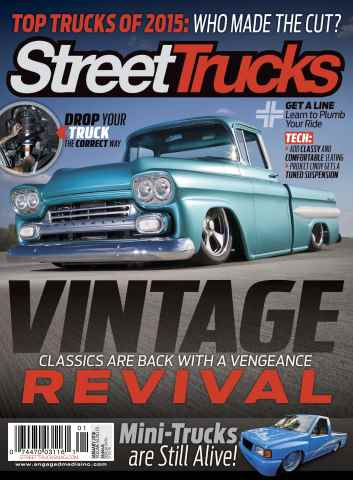 Street Trucks issue January 2016