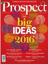 Prospect Magazine issue January 2016