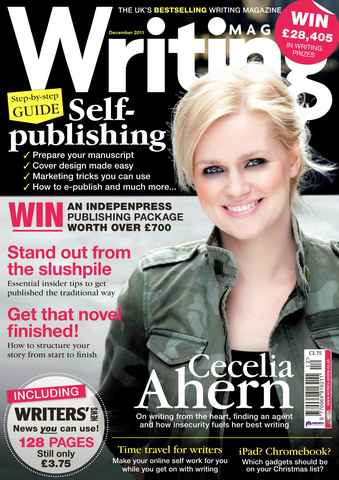 Writing Magazine issue December 2011