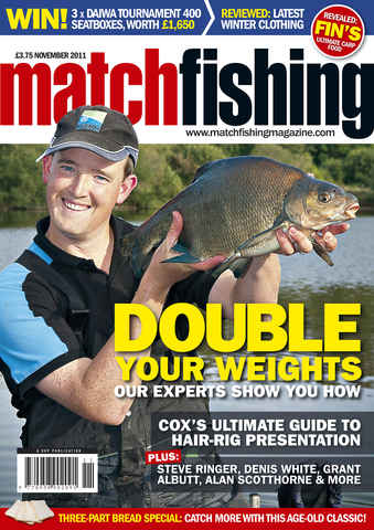 Match Fishing issue November 2011