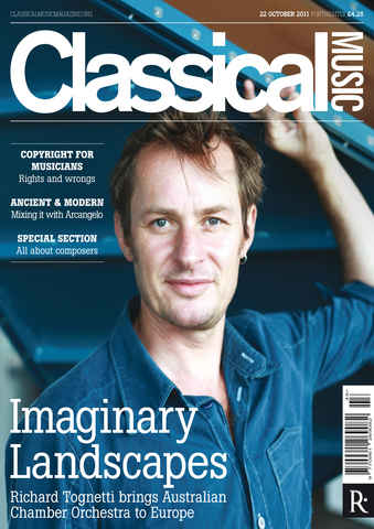 Classical Music issue 22 October 2011