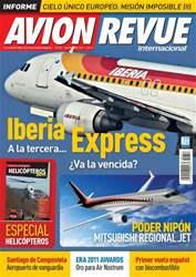 Avion Revue Internacional España issue Número 353 Noviembre 2011
